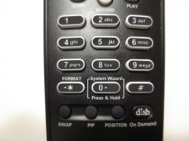 remote close up