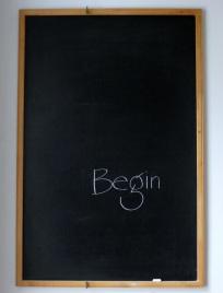 begin on slate