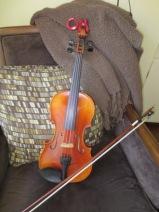 Tandy's violin
