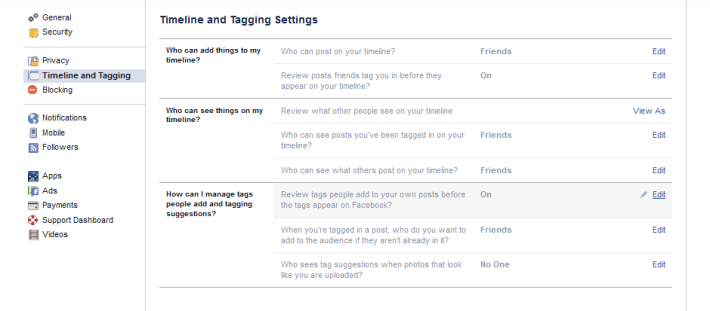 Facebook Privacy 2