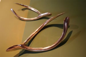 charles price bronze wishbones