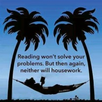 Reading_Housework won't solve problems